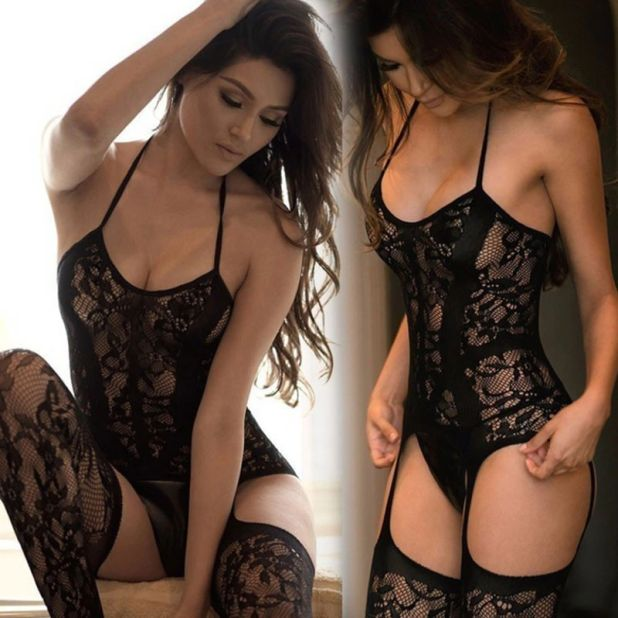 aliexpress bodystocking koronkowe